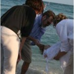 Vesper baptism of Danny