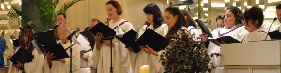 choir at easter 2019
