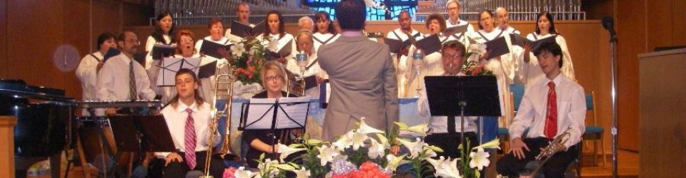 Choir on Easter