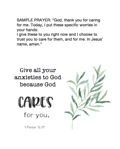 Church School Prayer 3.15.20
