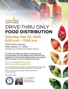food distribution 5.23.20